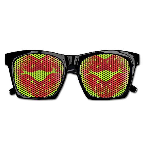 Lip Heart Mens/Womens Resin Sunglasses - Classic Full Frame Style