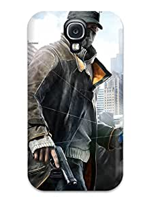 morgan oathout's Shop Best High-end Case Cover Protector For Galaxy S4(watch Dogs Aiden Pearce) 3639097K78993452