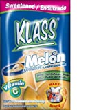 Klass, Cantaloupe Flavored Drink Mix, Melon (Pack of 10)