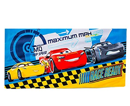 Disney/Pixar CARS 3 - Details & Downloadable Activity Sheets #Cars3 - Cars Beach Towel Movie Jackson Storm and Mcqueen