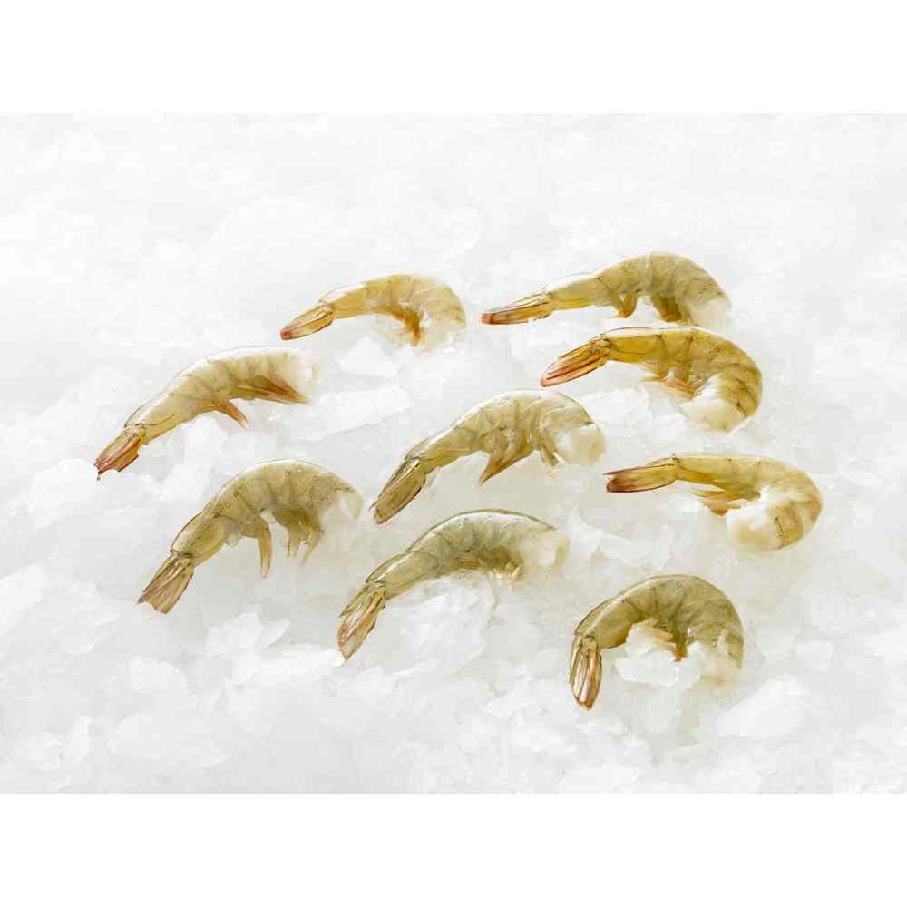 Harbor Seafood Packer Label 16/20 Raw Headless Shell On Shrimp, 2 Pound -- 10 per case. by Harbor Seafood