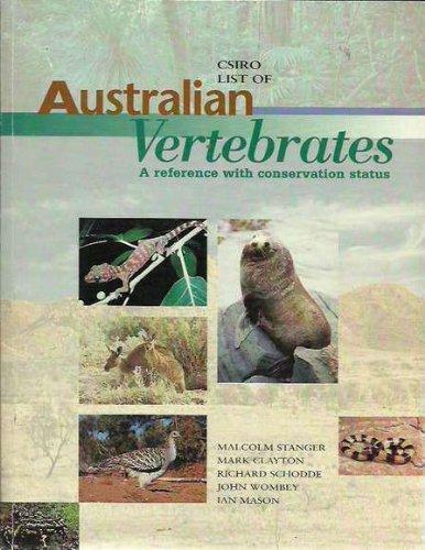 CSIRO List of Australian Vertebrates: A Reference with Conservation Status