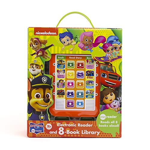 Nick Jr Toys (Nick Jr. - Paw Patrol, Bubble Guppies, and more! Me Reader Electronic Reader 8-Book Library - PI)