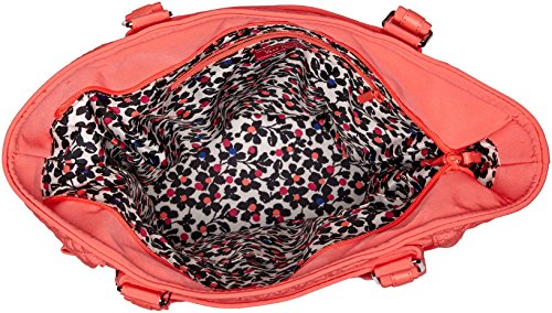 Coral Microfiber Satchel Iconic Vera Reef Glenna Bradley qXwgHAU