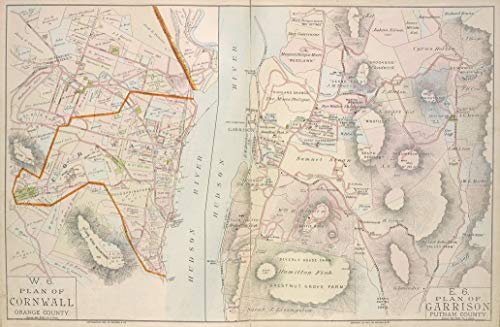Reprinted 18 x 24 1891 Map of New York A new North America with the West India Islands divided according to the preliminary articles of peace, signed at Versailles, Jan. 1783, wherein are part 0 0 28a by Vintography