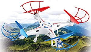 Top Race 4-Channel Quad Copter Drone, Ultra Stable with 1 Key Return & Headless Mode Option (TR-411) from Top Race