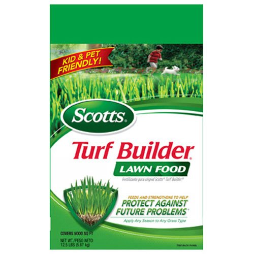 Scotts Turf Builder Lawn Food, 15,000-sq ft (Lawn Fertilizer)