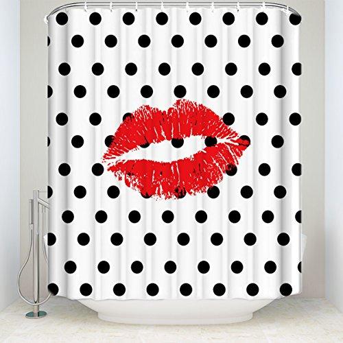 KAROLA Bathroom Shower Curtain, Waterproof Polyester Fabric