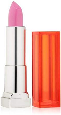 Maybelline New York Color Sensational Vivids Lipcolor, Pink Pop 0.15 oz Pack of 4
