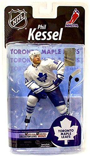 McFarlane Toys NHL Sports Picks Series 25 Action Figure Phil Kessel (Toronto Maple Leafs) White Jersey Bronze Collector Level Chase