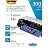 Fellowes Thermal Laminating Pouches, Letter, 3mil, 300 Pack (5247101)