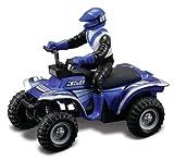 Maisto Racing #350 (Metallic Blue) * Off-Road Series Motorized ATV * 2010 Maisto ATV's Fresh Metal Pull-Back Motor Die-Cast Vehicle