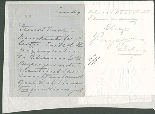 Princess Helena Augusta (Great Britain) Autograph Letter Signed