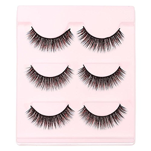 Mermaid 3D False Eyelashes Set False lashes Makeup