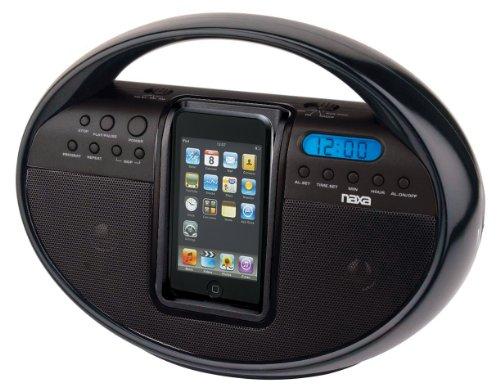 NAXA Electronics NI-3104 Portable AM/FM Stereo Radio with Do