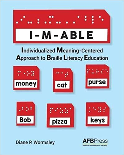 Book I-M-ABLE: Individualized Meaning-Centered Approach to Braille Literacy Education