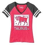 Comical Shirt Ladies Taurus Horoscope Game V-Neck Tee