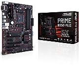 Asus Prime B350-PLUS AMD DDR4 S-ATA 600 ATX Motherboard - Black