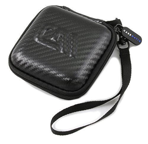 CASEMATIX Carry Case for Dual Electronics XGPS150A Multipurpose Universal Bluetooth GPS Receiver and Charge Cable (Does NOT FIT Other Dual Electronics Models OR Larger Accessories)