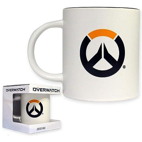 Amazon.com: 16oz oficial Overwatch taza de café cerámica de ...