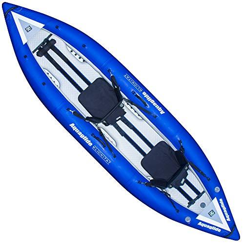- Aquaglide Klickitat 125 HB Tandem Inflatable Kayak