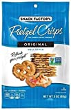 Snack Factory Pretzel Crisps, Original, 3 Ounce (Pack of 8)
