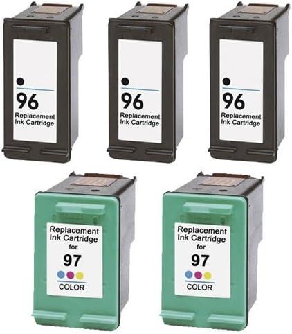 SuppliesOutlet cartucho de tinta compatible con HP c8767 W & c9393 ...