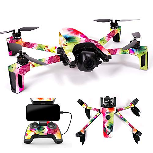 MightySkins Skin for Parrot Anafi Drone - Pollinate | Protective, Durable, and Unique Vinyl Decal wrap Cover | Easy to Apply, Remove, and Change Styles | Made in The USA