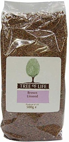 Tree of Life Linseed Brown 500g X (Pack 500g X 6) by Tree of Life