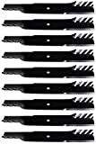 (9) USA Mower Blades Mulching for Bad Boy 038-6050-00, 038-6002-00, 60'' Deck
