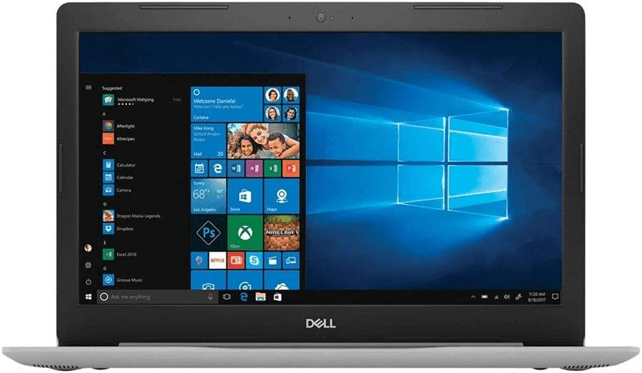 "DELL 15.6"" i7-8550U 16GB RAM 2TB HDD 4GB AMD Radeon Inspiron Touchscreen Trulife LED-Backlit FHD Windows 10 Professional"