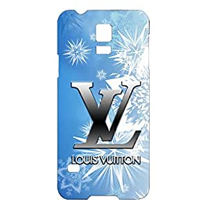 Popular HD Wallpaper Printed Louis Fashion Vuitton Phone Case Retro Back Cover for Samsung Galaxy S5 Mini