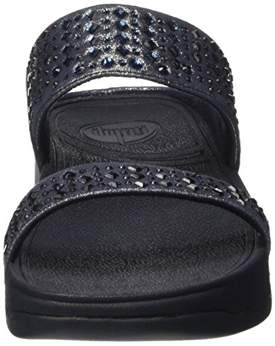 FitflopNovy Slide - sandalias mujer Blu