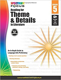 Spectrum reading for theme and details in literature grade 5 spectrum reading for theme and details in literature grade 5 spectrum focus 449 free shipping fandeluxe Gallery