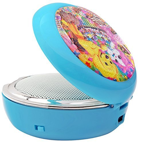 Lisa Frank ® Compact Mirror Speaker - Puppies