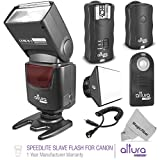 Universal Manual Slave Flash + Wireless Trigger Kit for Canon by Altura Photo