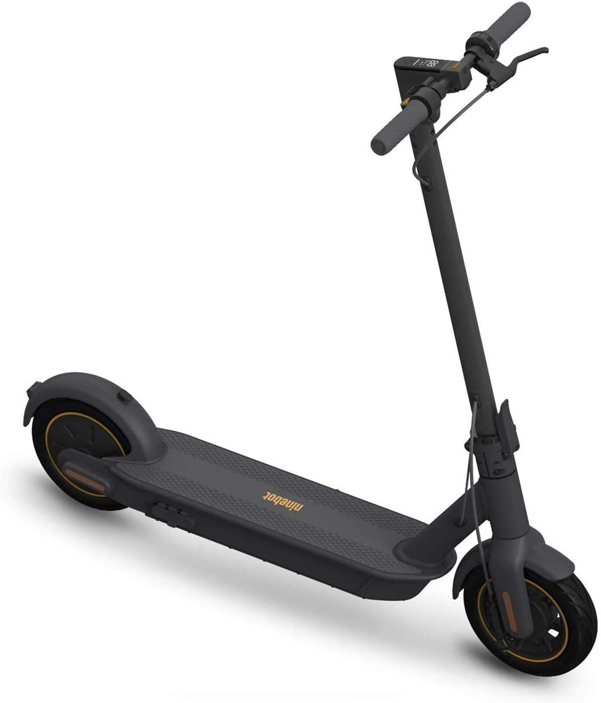Amazon.com : SEGWAY Ninebot MAX Electric Kick Scooter Up to 40.4 Miles Long-range Battery Max Speed 18.6 MPH Foldable and Portable Dark Grey, Extra Large (G30P) : Sports & Outdoors