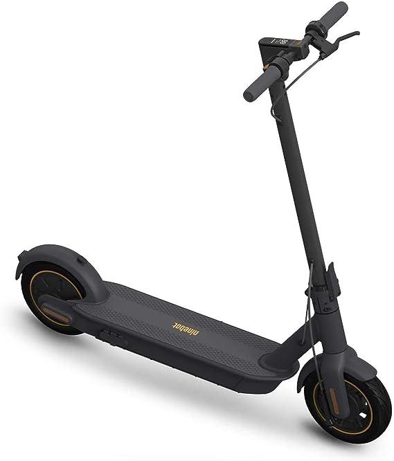 SEGWAY Ninebot MAX Scooter eléctrico (G30P), hasta 40.4 Millas de batería de Largo Alcance, Velocidad máxima 18.6 mph, Plegable y portátil: Amazon.com.mx: Deportes y Aire Libre
