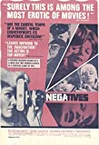 "Negatives 1968 Authentic 27"" x 41"" Original Movie Poster Glenda Jackson Drama U.S. One Sheet"