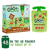 Cheap GoGo squeeZ Applesauce on the Go, Apple Pumpkin Cinnamon, 3.2 Ounce (48 Pouches), Gluten Free, Vegan Friendly, Healthy Snacks, Unsweetened Applesauce, Reusable, BPA Free Pouches