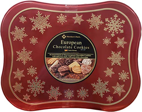 Member's Mark European Chocolate Cookie, 49.4 Ounce ()