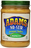 Adams, No-Stir Peanut Butter Crunchy, 16 oz