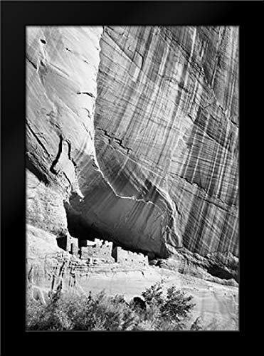 White House Ruin in Canyon de Chelly National Monument, Arizona, 1941 Framed Art Print by Adams, Ansel Canyon De Chelly National Monument