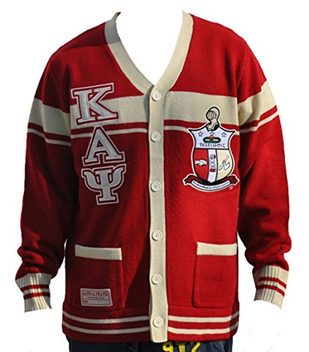 Big Boy Headgear Kappa Alpha Psi Fraternity Men's Wool Sweater 3XL Crimson Red Alpha Kappa Alpha Sweater