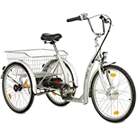 Elektro-Dreirad 24 Zoll, 3-Gang