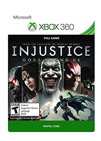 Injustice: Gods Among Us - Xbox 360 Digital Code