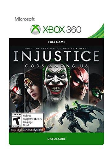Injustice: Gods Among Us - Xbox 360 Digital Code (Injustice Gods Among Us Codes Xbox 360)