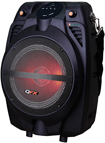 QFX PBX-71100BTL Portable Bluetooth Party Speaker