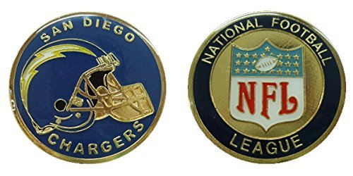 - Chargers Collectible Challenge Coin- Logo Poker - Lucky Chip