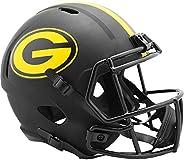 Riddell Green Bay Packers 2020 Black Speed Replica Full Size Football Helmet